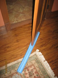 the Easiest Homemade Door Sweep