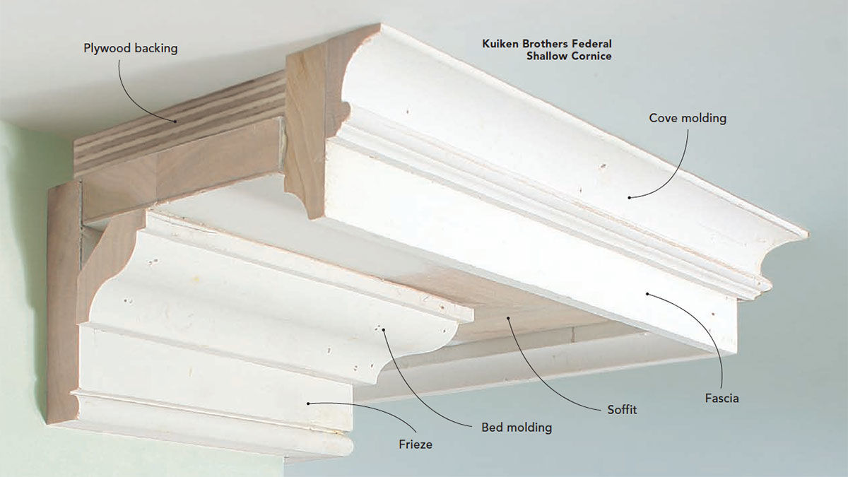 How To Install Built Up Crown Molding Fine Homebuilding