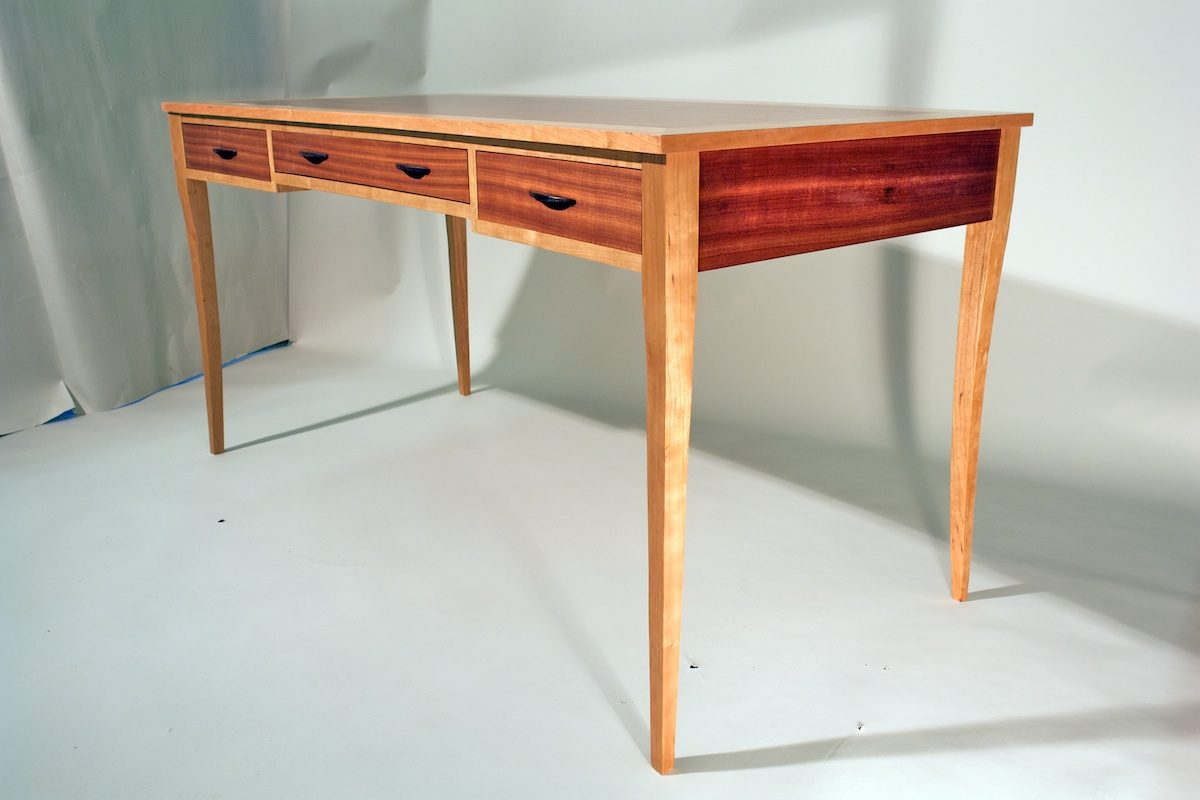 Writing Table Plans Mahogany Writing Desk Finewoodworking