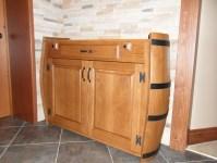 Wine Barrel Cabinet - FineWoodworking