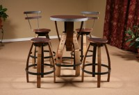 Wine Barrel Furniture - FineWoodworking
