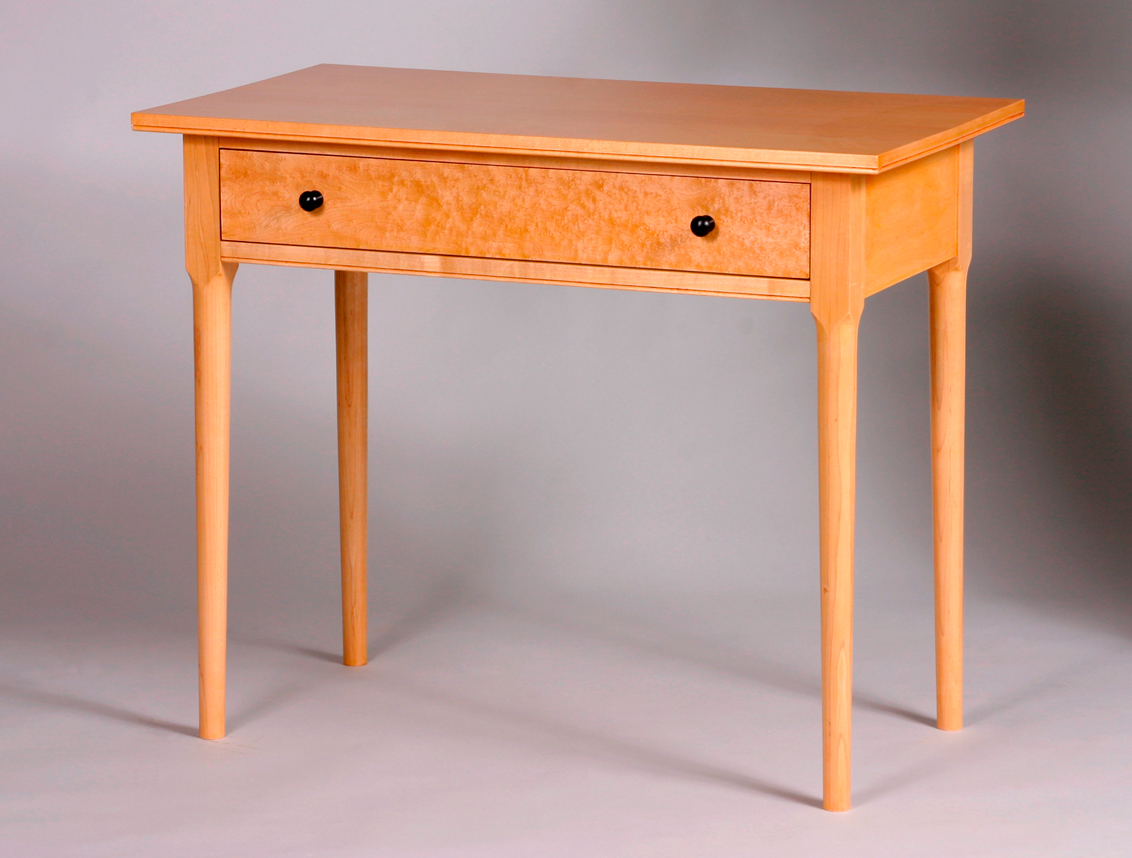 Writing Table Plans Shaker Inspired Writing Desk Finewoodworking