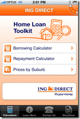 ING Direct Releases Home Loan Toolkit for the iPhone - Finovate