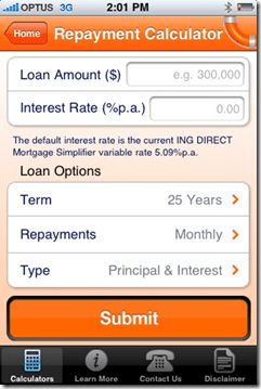 ING Direct Releases Home Loan Toolkit for the iPhone - Finovate
