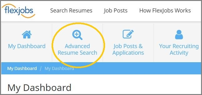 Sourcing Candidates? Use FlexJobs\u0027 Advanced Resume Search for FREE