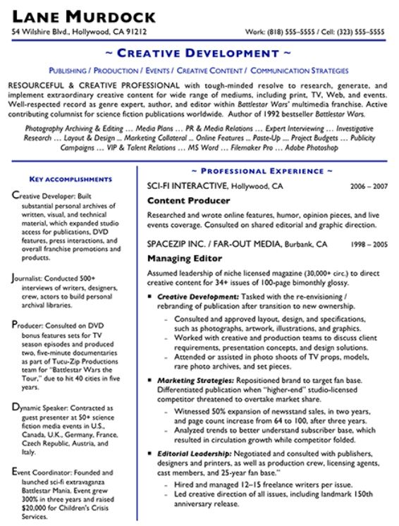 How to Make a Creative-Looking Resume - how can i make a resume