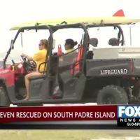Seven Rescued after Boat Sinks near South Padre Island