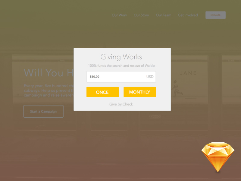 Proper Charity Donation Forms - Free Sketch - Freebie Supply