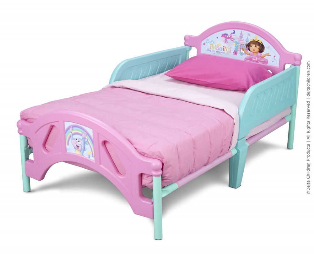 Cheap Toddler Beds Dora Toddler Bed