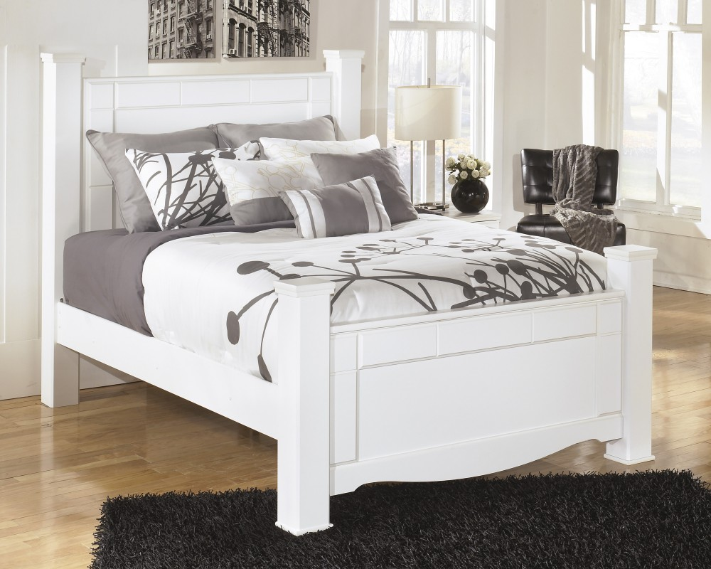 White Four Poster King Bed Weeki Queen Poster Bed