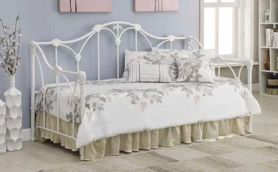 TWIN METAL DAYBED - DAYBED 300216 Day Beds Price Busters Furniture