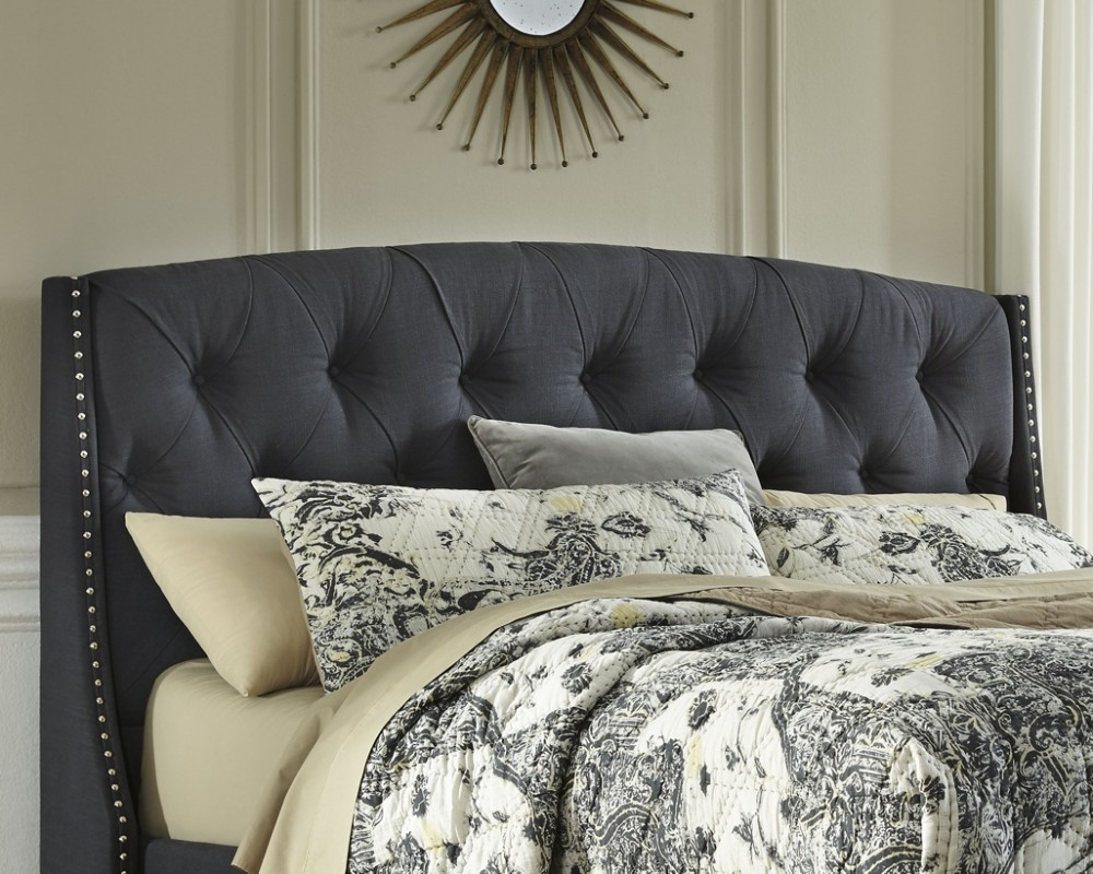 Bed Headboard Kasidon Queen Upholstered Headboard