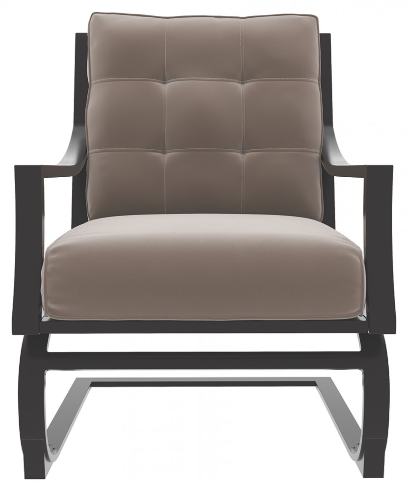 Lounge Chair Town Court Brown Spring Lounge Chair 4 Cn