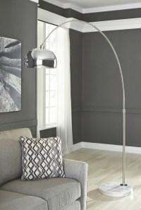 Osasco - Silver Finish - Metal Arc Lamp (1/CN) | L725099 ...
