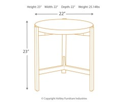Small Of Round End Table