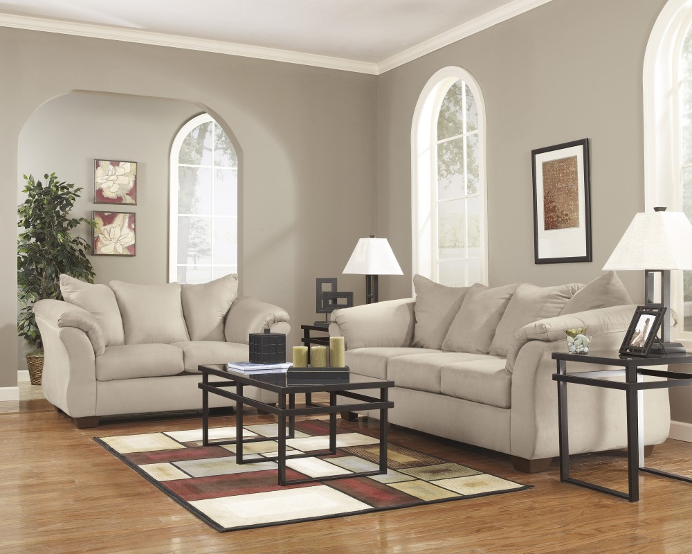 Brown Sofa And Loveseat Sets Darcy Stone Sofa Loveseat