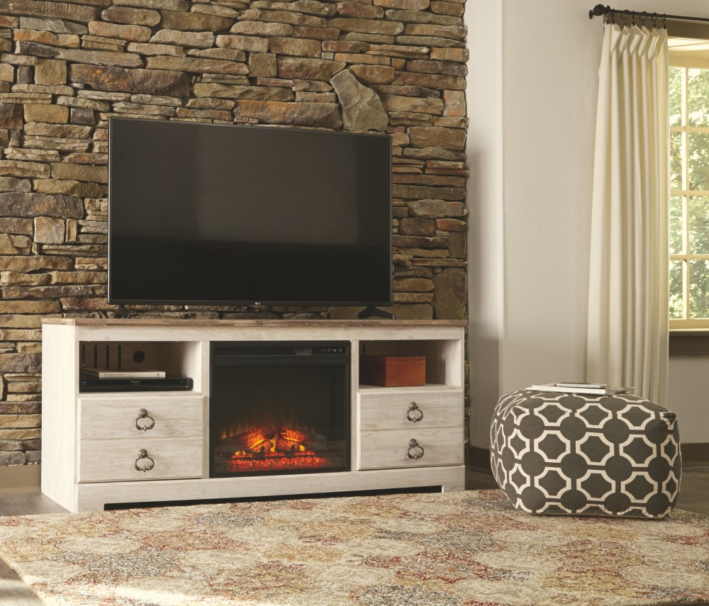 Living Room Electric Fireplace Willowton 64