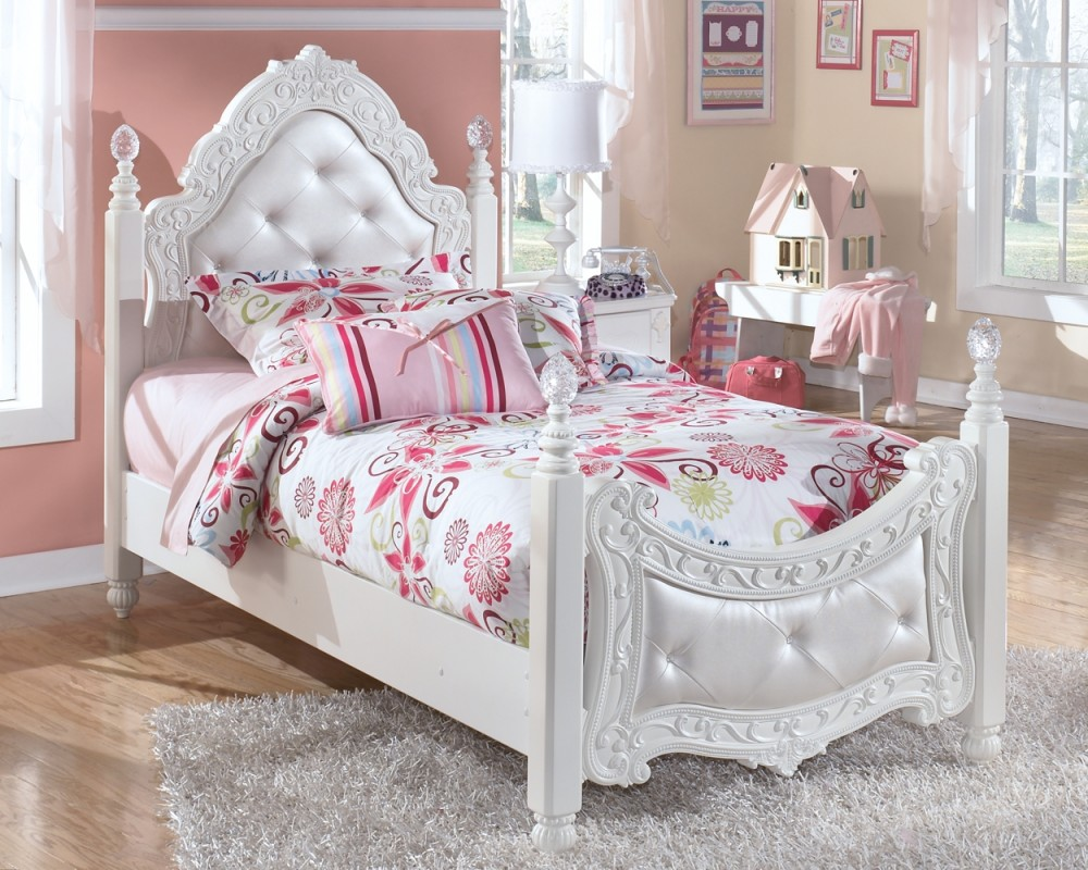 Exquisite Twin Poster Bed B188yb55 B18871 B18882n Beds Furniture World Superstore