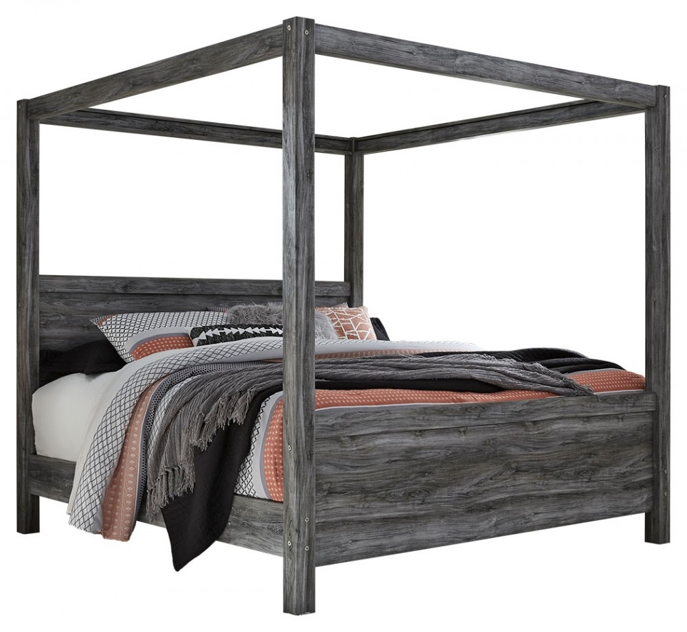 King Bed With Posts Baystorm King Poster Bed