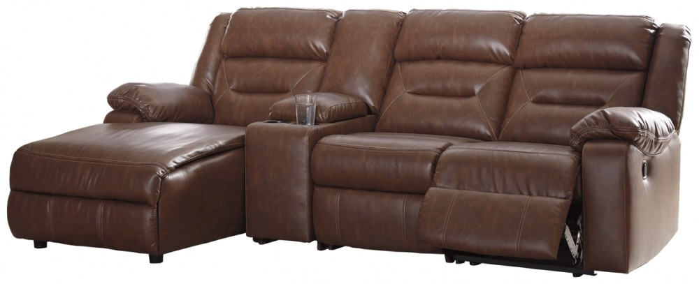 Couches 4 Coahoma 4 Piece Reclining Sectional With Chaise