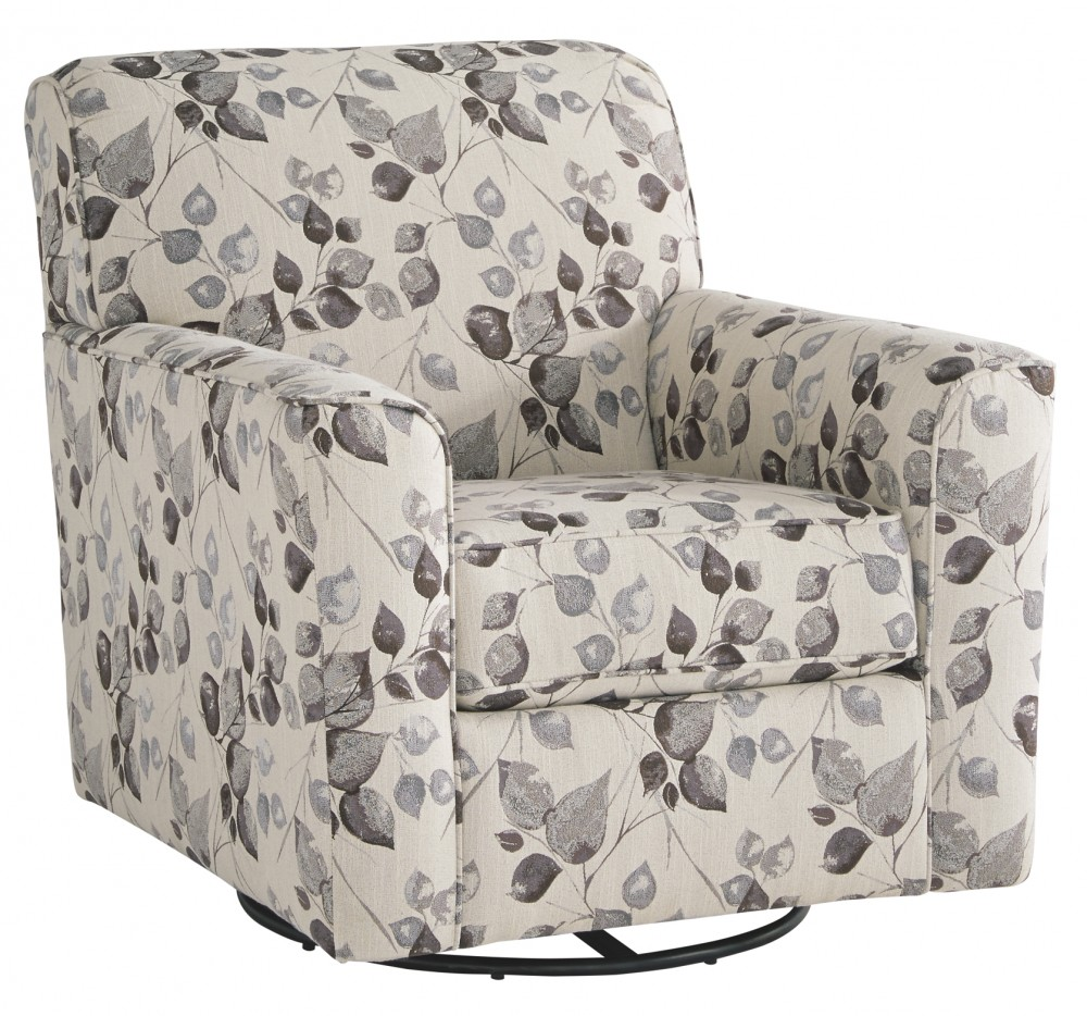 Abney Swivel Accent Chair Chairs Home Furniture