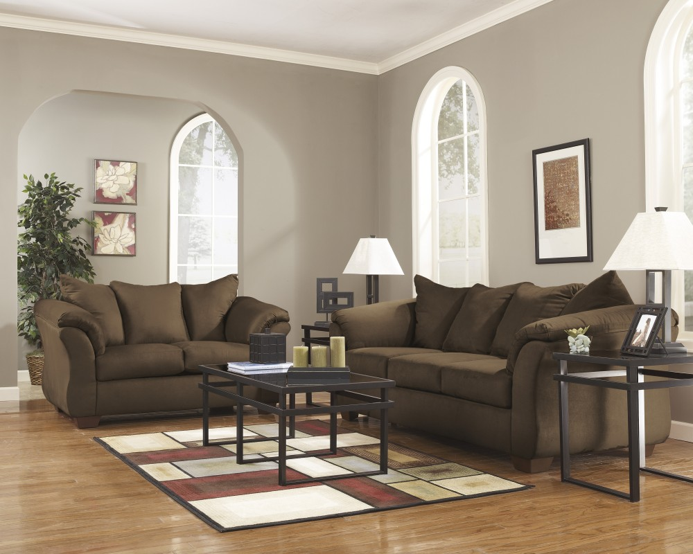 Emelen Sofa And Loveseat Darcy Cafe Sofa Loveseat