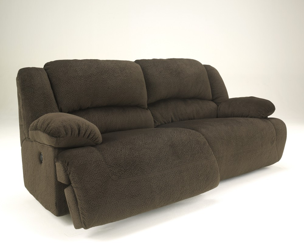 Sofa With Recliner Toletta Chocolate 2 Seat Reclining Sofa