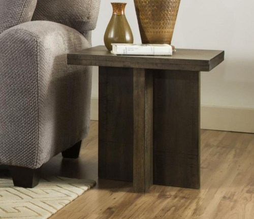 Medium Of Oak End Tables