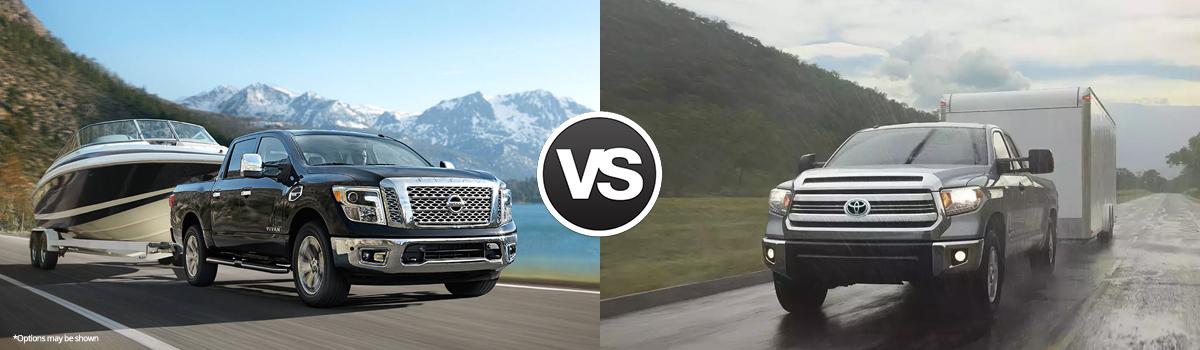 2017 Nissan Titan vs 2017 Toyota Tundra Comparison In Columbia