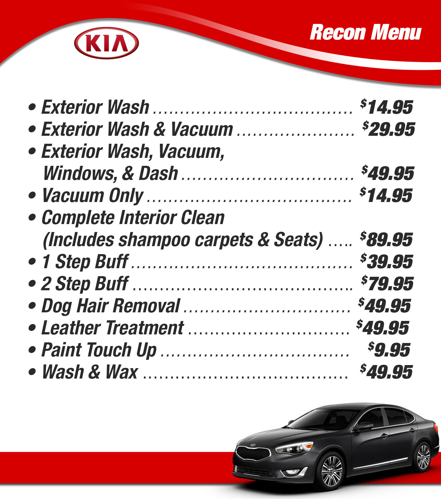 Garage Auto 95 Kia Service Parts Tires Freeway Auto And Discount Tire Center