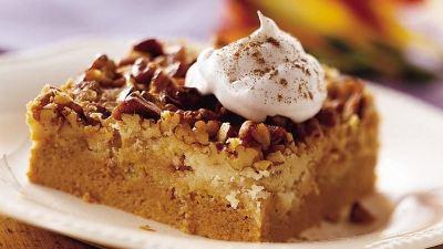 Praline Pumpkin Dessert recipe from Betty Crocker