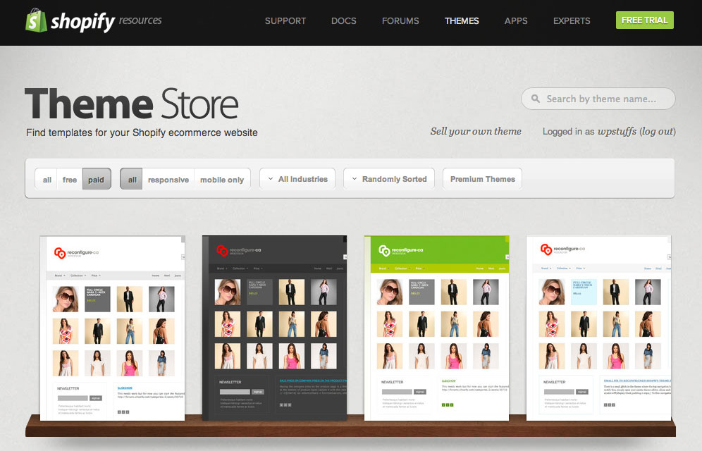 How to Select the Best Theme that Goes Well with Your Shopify Store
