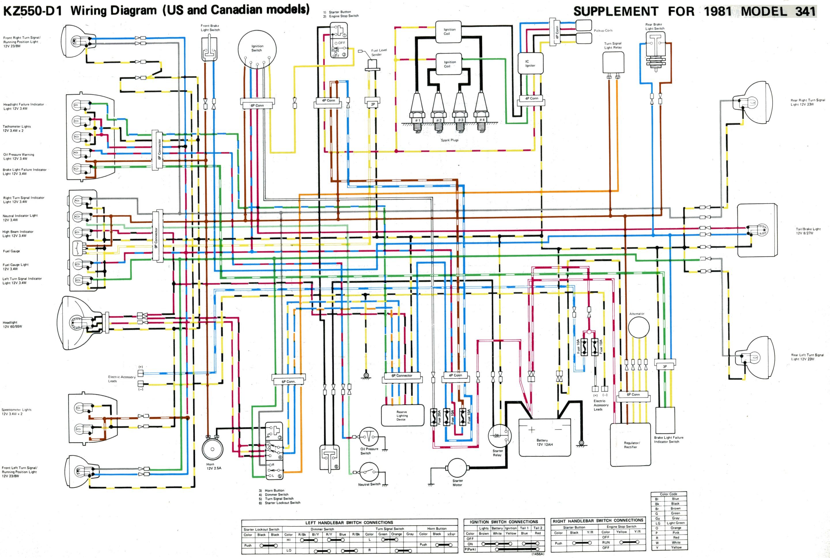 wire diagrams 1979 kawasaki
