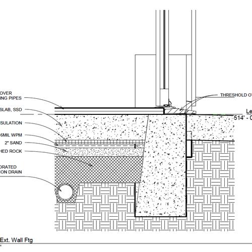 wiring icf basement waterproofing