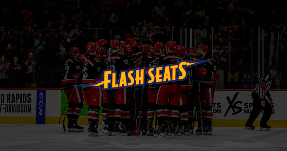 Grand Rapids Griffins Flash Seats Info