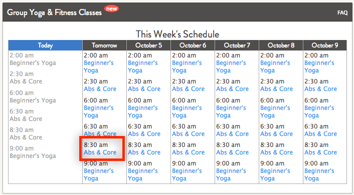 How-to Schedule Yoga, Fitness, and Cooking Videos Grokker