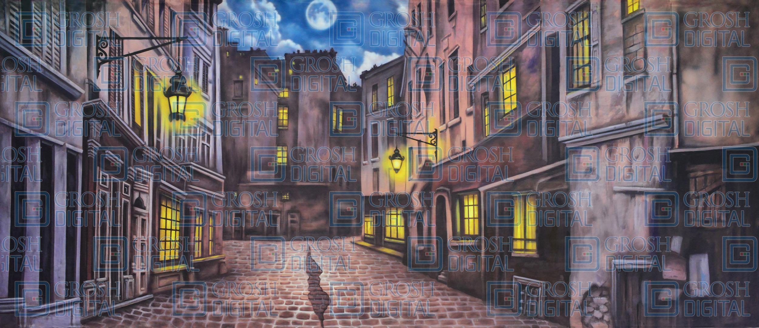 Animated Christmas Wallpaper Windows 7 Free Download European Street Projected Backdrops Grosh Digital