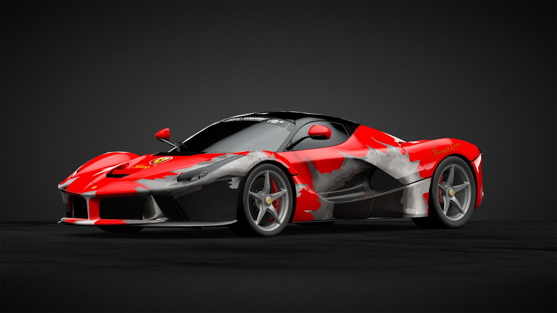 Arte Replay Mustang La Ferrari Problem Car Livery By Massy3 Community Gran