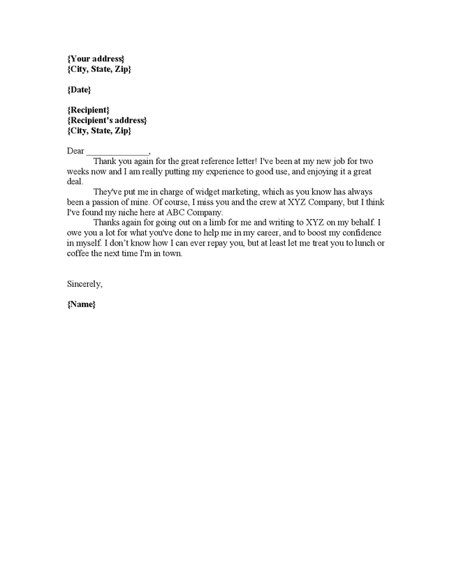 letter for ms the daily muse recommendation letter sample ...