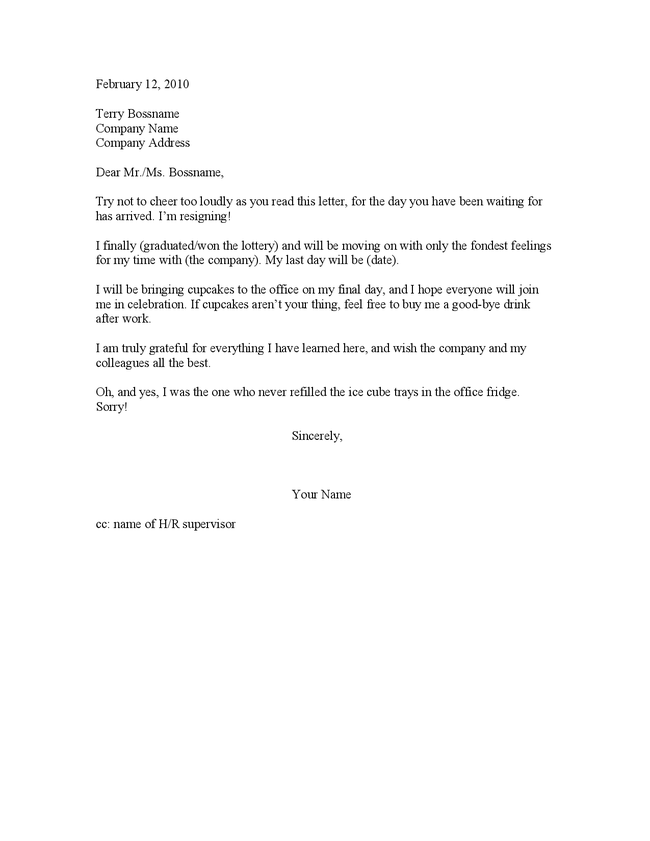 ... Letter 2 Week Notice Malaysia Resignation Letter Sample