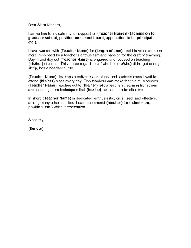 Character reference letter for a teacher image collections letter character reference letter from teacher to student professional character reference letter from teacher to student character expocarfo Image collections