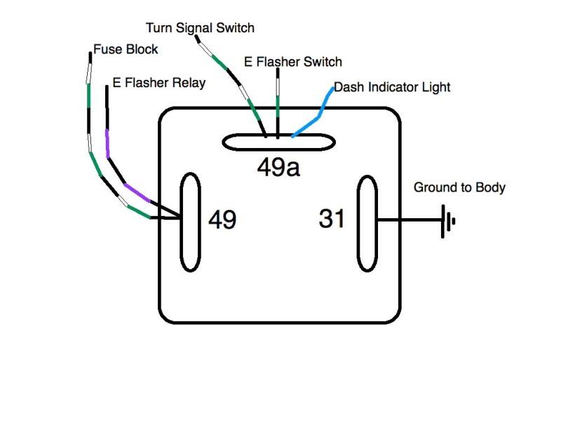 7 pin relay wiring diagram