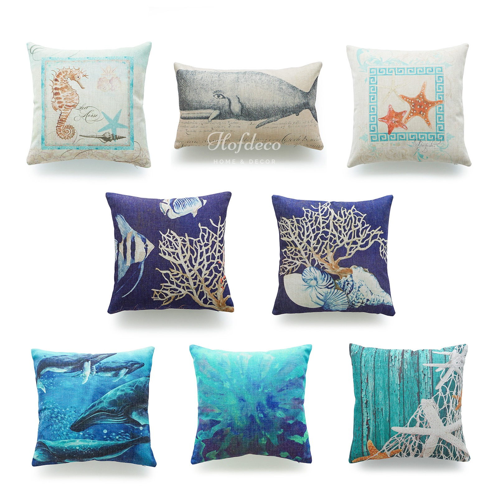 Nautical Sofa Throws Hofdeco Throw Pillow Cover Ocean Coastal Beach Nautical Lumbar