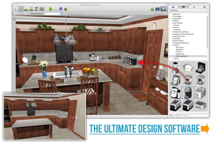 23 Best Online Home Interior Design Software Programs (FREE \ PAID) - kitchen design programs