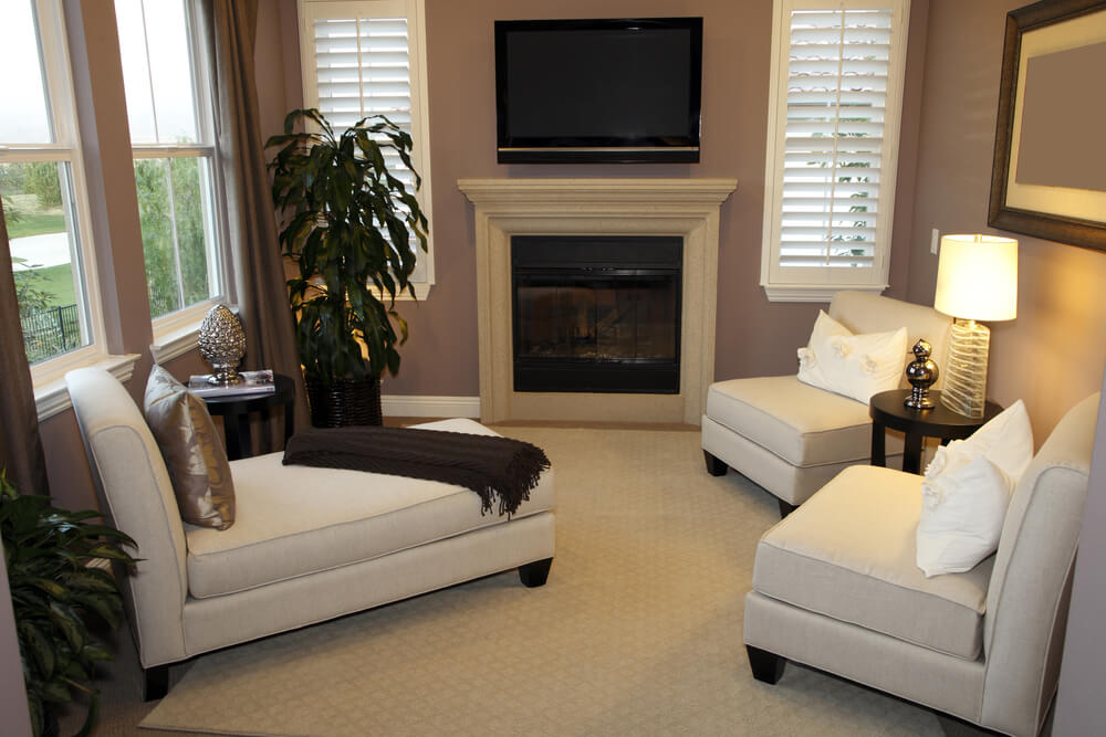 53 Cozy \ Small Living Room Interior Designs (SMALL SPACES) - living room chaise lounge
