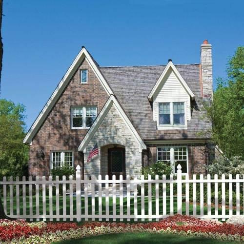 Medium Of Backyard Fence Designs
