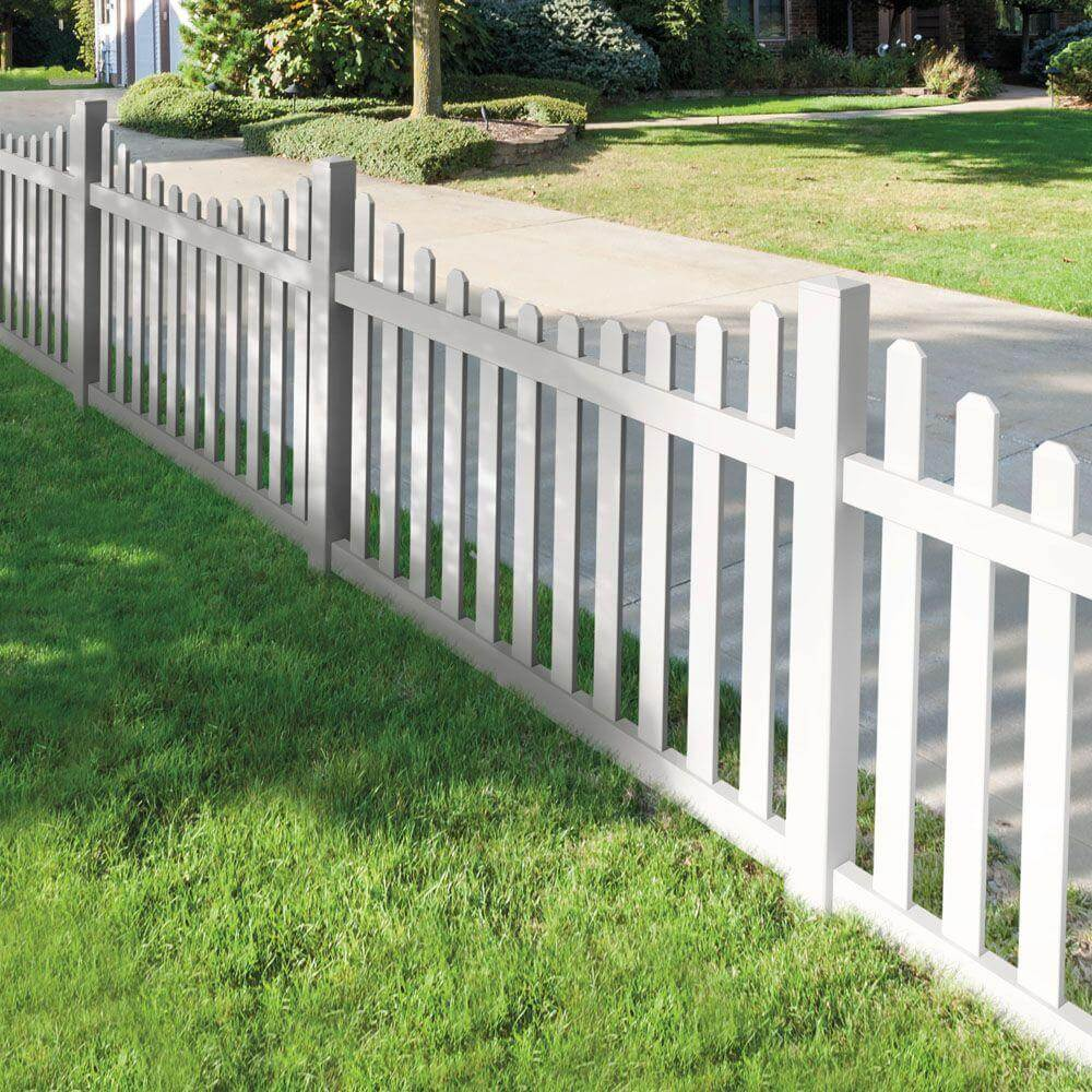 Backyard Fence 75 Fence Designs Styles Patterns Tops Materials And Ideas