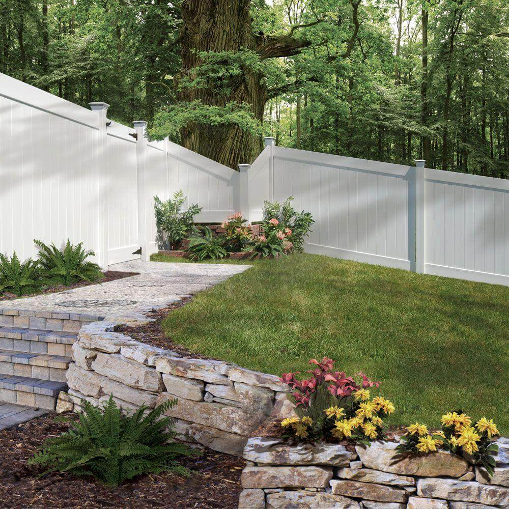 Superb Backyards Unconventional Fencing Ideas Vinyl Fence Fence Materials Ideas Cheap Fencing Ideas Backyards outdoor Fencing Ideas For Backyards