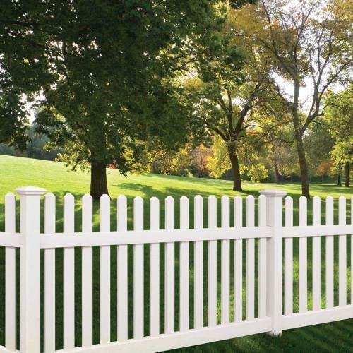 Medium Of Backyard Fence Design