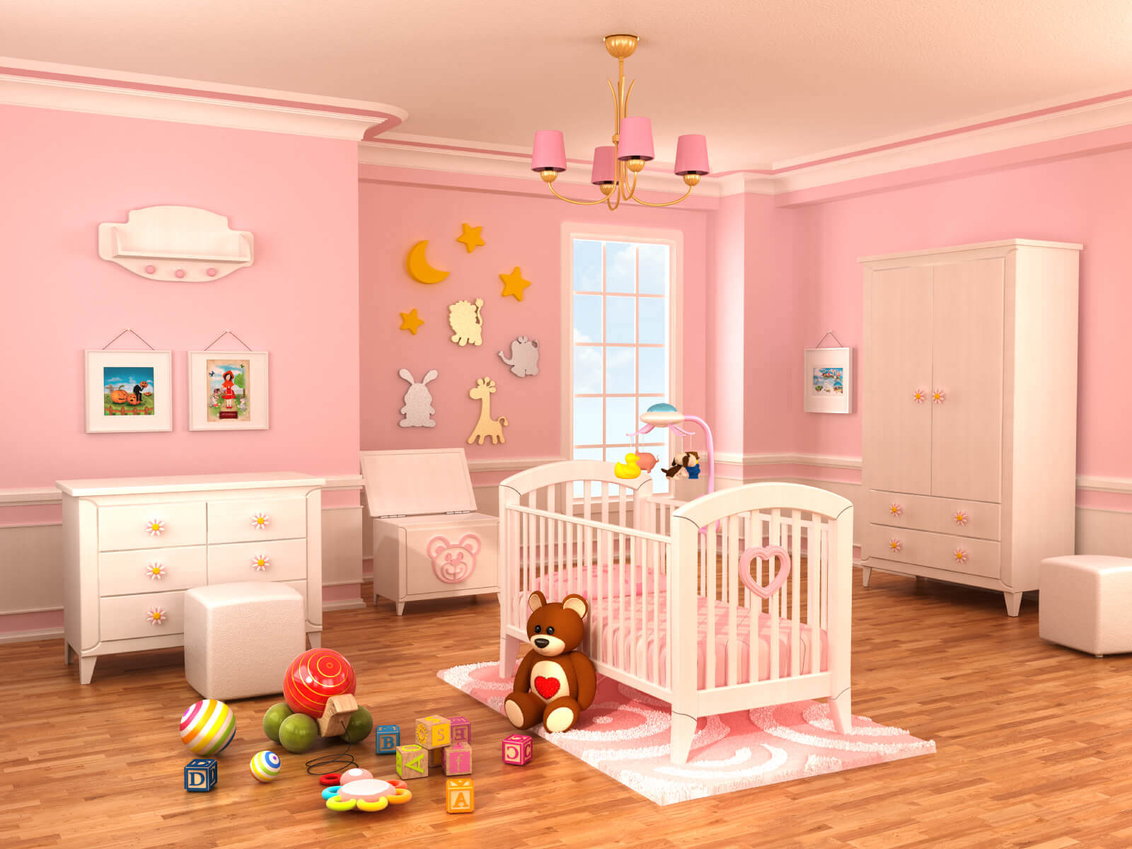 Baby Rooms 18 Baby Girl Nursery Ideas Themes And Designs Pictures